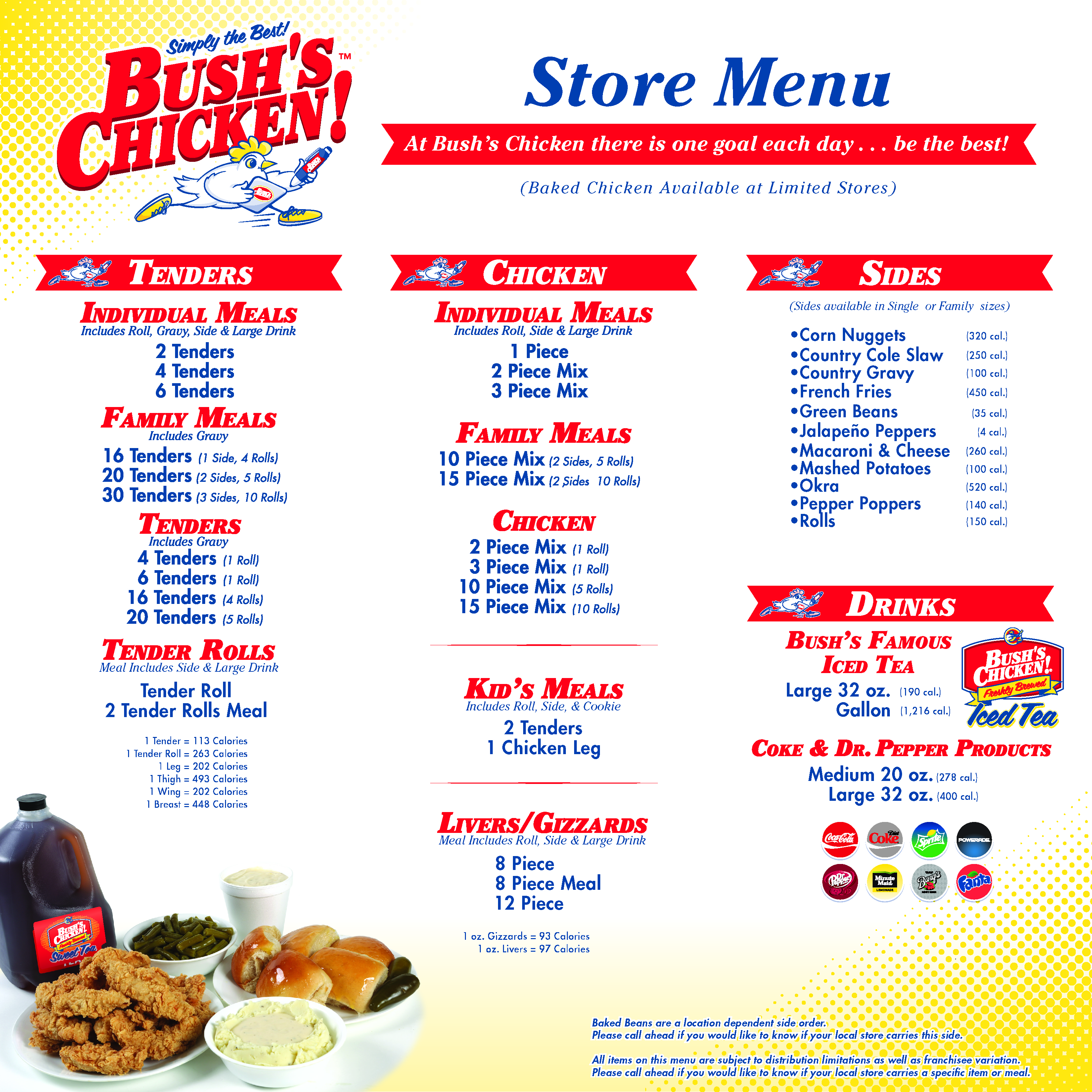 bushs chicken coupon san antonio